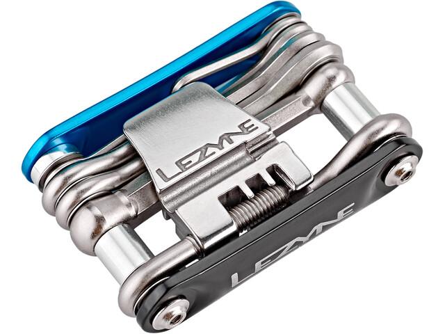 Lezyne RAP-14 Multifunktionswerkzeug blau/schwarz